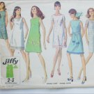 Simplicity 8231 misses dress pattern size 16 B38 vintage 1969 simple lines