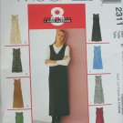 McCall 2311 misses dress or jumper sizes 14 16 18 UNCUT pattern