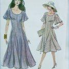 Vogue 8696 misses dress bottom flar size 6 8 10 UNCUT pattern