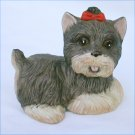 HOMCO Scotie dog figurine 1475 porcelain with sticker