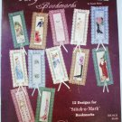 Very Victorian bookmarks cross stitch patterns 12 designs