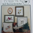 Cross stitch pattern North American Favorites birds wren cardinal +