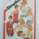 Simplicity 5352 pattern sizes 18 20 camisole tops jacket