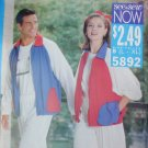 Butterick 5892 unisex man woman jacket pants sizes L XL uncut pattern