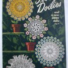 Flower Doilies to crochet vintage craft pattern book Star Book 64