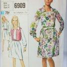 Simplicity 6906 vintage 1966 pattern misses dress jacket size 10 B31
