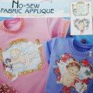Daisy Kingdom No Sew fabric applique angel cherubs