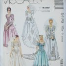 McCall 5176 bride bridal gown prom dress sizes 8 10 12 UNCUT pattern