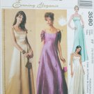 McCall 3580 formal dress gown misses 16 18 20 22 UNCUT pattern