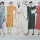 Vogue 1465 misses top skirt size 12 uncut pattern