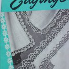 1949 vintage Handkerchief Edgings booklet crochet designs Coats Clark 256