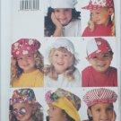 Butterick 3281 child's hat pattern sizes S M L Uncut pattern