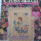 Better Homes Gardens Cross stitch February 1994 valentines more