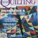McCall Quilting Oct 2005 18 quilt patterns magazine