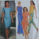 Simplicity 9502 misses two piece dress top skirt pants sizes 16 18 20 22 uncut pattern