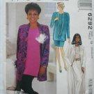 McCall 6292 misses cardigan tunic top skirt pants sizes 20 22 24 UNCUT