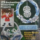 Plastic Canvas Magazine 11 pull Santa wreath sleigh more