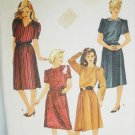 Simplicity 6619 vintage dress pattern 6 8 10 UNCUT
