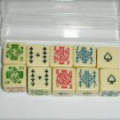Mahjong dice 10 pieces partial set Mah Jong