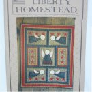 liberty Homestead quilt pattern Angels in Flight wall hanging