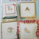 Cross stitch leaflet Yorktown Seasons hats and flower designs