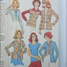 McCall 4617 misses top cardigan shirt for knits sizes 12 14 16 UNCUT pattern