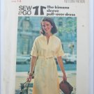 Butterick Kimono sleeve pullover dress misses size 14 UNCUT pattern
