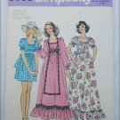 Simplicity 6053 retro pattern young miss dress size 9/10 UNCUT