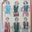 Simplicity 5294 misses vest pattern size 16 UNCUT but NO DIRECTIONS