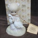 Precious Moments figurine God is Love girl with goose MIB E5213