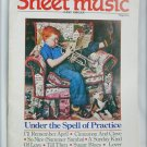 Sheet Music Magazine August September 1986 Under Spell of Practice Easy Organ