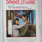 Sheet Music Magazine June July 1991 Songs & People America Loves Easy Organ
