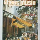 Sheet Music Magazine I Love Paris October 1983 C'est Magnifique plus