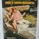 Hal Leonard organ book That's Show Business #13 with 17 songs sheet music