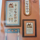 Cross stitch Kit HOME from Cross 'n Patch leaflet material floss