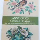 Anne Orr charted designs cross stitch patterns 40 pages booklet