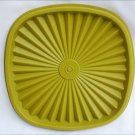 "Tupperware loden green replacement lid 6 3/8"" press & seal 841"