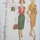 Simplicity 3590 vintage 1960s blouse jacket skirt size 16 bust 36