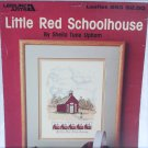 Little Red Schoolhouse Leisure Arts 653 cross stitch leaflet