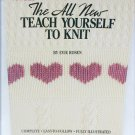 Teach Yourself to Knit Leisure Arts booklet 623 by Evie Rosen