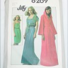 Simplicity 8269 misses pull on sun dress and jackets size 12