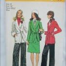 Simplicity 5197 missed front wrap jacket skirt pants UNCUT pattern size 12