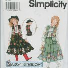 Simplicity 9180 girls vest skirt blouse sizes S M L uncut pattern Daisy Kingdom