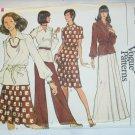 Vogue 8706 misses top skirt pants size 12 uncut pattern
