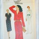 Vogue 7515 misses pullover dress pattern size 12 UNCUT bust 34