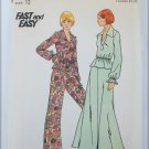 Butterick 3961 size 12 UNCUT pattern misses top skirt pants vintage