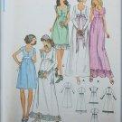 Butterick 6668 misses bridal dress prom size 12 bust 34 UNCUT pattern