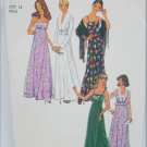 Simplicity 7807 misses dress jacket pattern vintage 1978 size 12