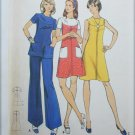 Butterick 3070 misses dress tunic pants vintage pattern UNCUT size 12