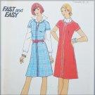 Butterick 3575 misses A line dress size 12 B34 UNCUT pattern front zipper